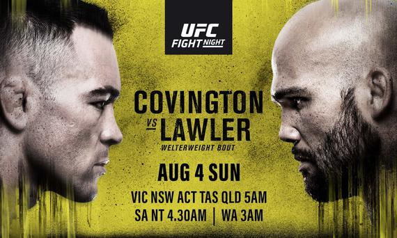 2019年8月4日UFC on ESPN 5 - 对阵[视频] Covington vs. Lawler
