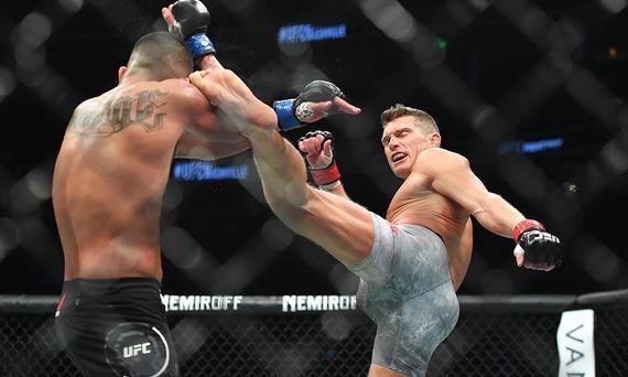 汤普森UFC244回归对决卢奎 老将阿尔洛夫斯基同晚出战