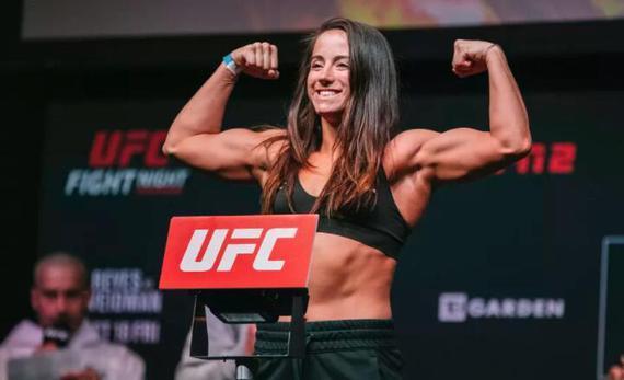 """梅塞-巴伯UFC246对决""""快乐战士""""罗克珊-莫达费里"""