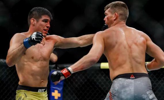 文森特的6连胜在UFC244中被汤普森终结