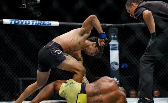 战绩相当出色的巴西蝇量级新星亚历山大-潘托哈
