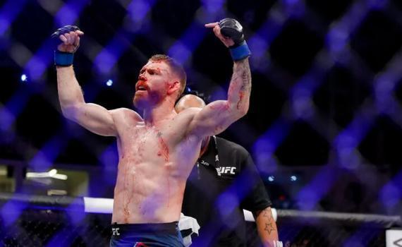 UFC格斗之夜168重返新西兰 菲尔德VS霍克尔领衔头条
