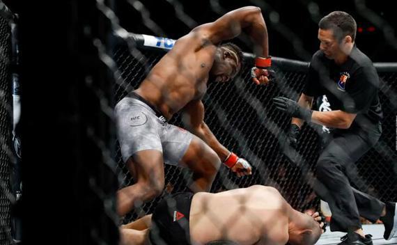 UFC on ESPN 1综述:纳干诺26秒KO终结前冠军凯恩