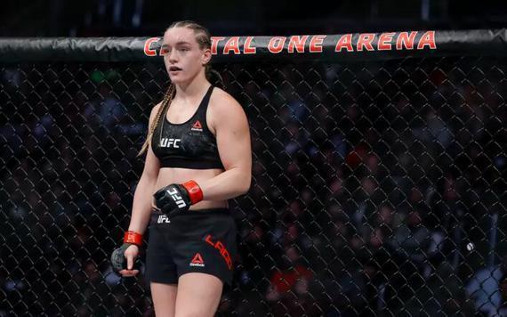女子雏量级新秀阿斯彭-拉德出战UFC哥伦布赛对决佩娜