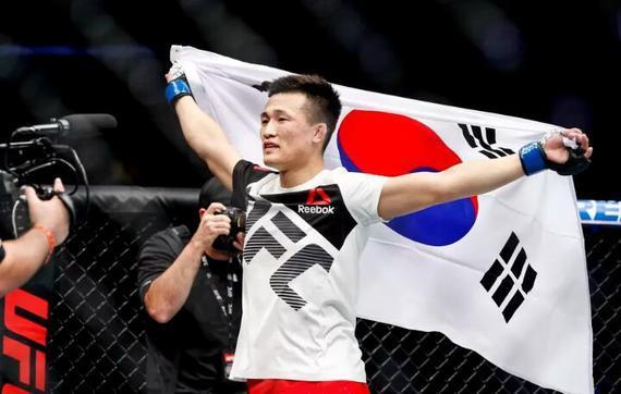 """奥尔特加VS""""韩国僵尸""""郑赞盛将领衔UFC格斗之夜165"""