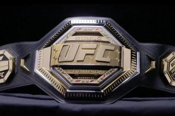 UFC公布新款冠军腰带 标记卫冕次数UFC布鲁克林赛启用