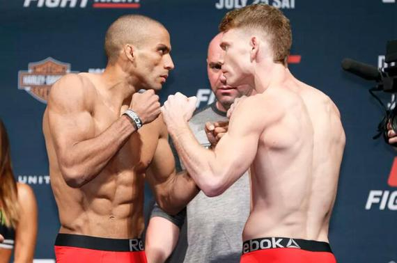 UFC242敲定巴博萨VS菲尔德二番战 女子赛乔安妮对决李