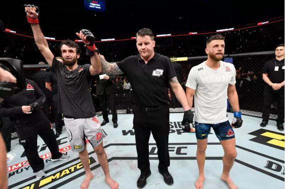 UFC格斗之夜163综述:扎比特判定击败凯塔尔取14连胜
