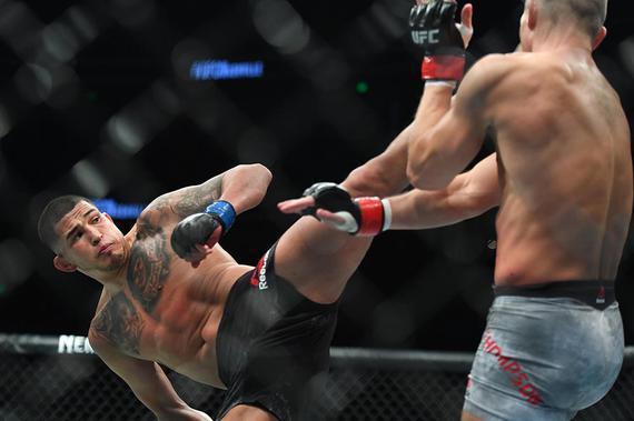 """""""神奇小子""""汤普森瞄准11月UFC224回归 希望对阵安乔斯"""