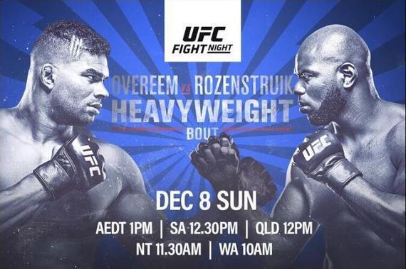 UFC on ESPN 7前瞻:欧沃瑞姆迎战新星罗森斯特鲁克
