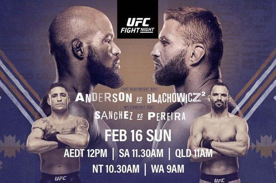 UFC格斗之夜167前瞻:安德森VS布拉乔维奇二番对决