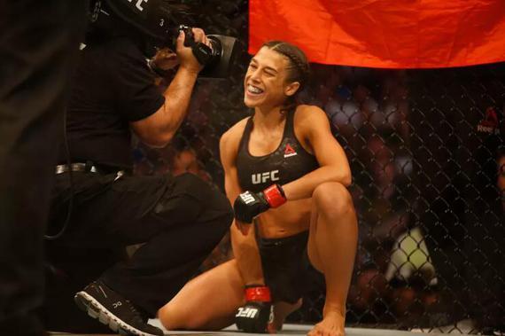 乔安娜:重夺UFC冠军的意义超过了我以往的任何成就