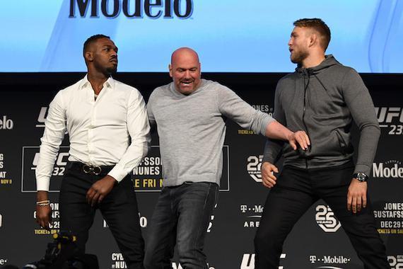 UFC232的新闻发布会火药味知足