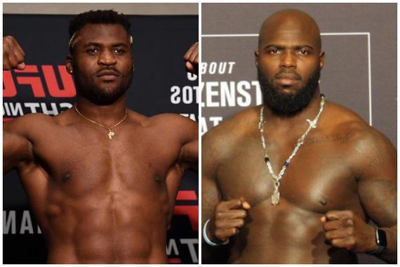 纳干诺VS罗森斯特鲁克重量级对决领衔UFC格斗之夜172