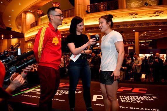 张伟丽:我会把胜利带回祖国 将用拳头和乔安娜对话