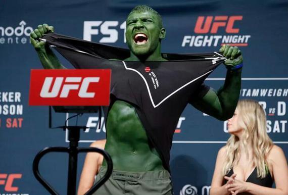 艾恩-库特莱巴:我是真正的绿巨人 将成为轻重量级明星