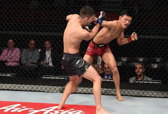苏木达尔基出战UFC格斗之夜170 莫伊卡诺升重首秀