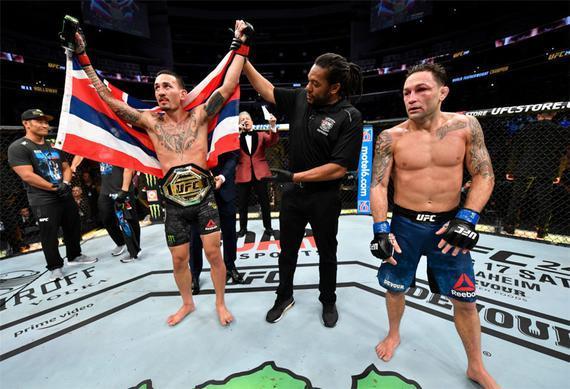 UFC240综述:霍洛威判定成功卫冕 机械兽苦战惊险获胜