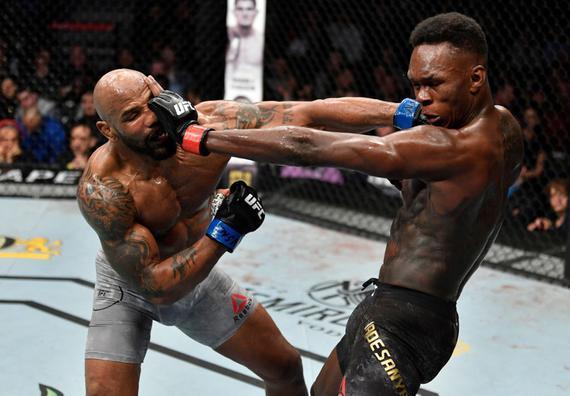 UFC248综述:阿迪萨亚成功卫冕 张伟丽血性击败乔安娜
