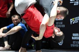 UFC229赛前公开训练精彩集锦 (2)