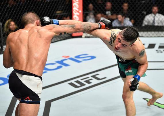 莫拉诺:珍惜第二次UFC之旅 努力成为首位墨西哥冠军