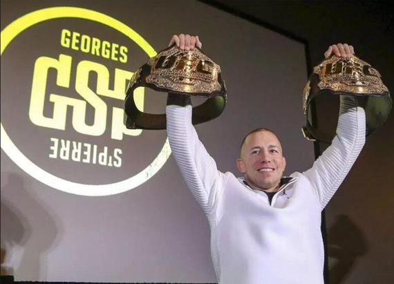 乔治-圣皮埃尔宣布退役 他让加拿大出现在MMA版图上