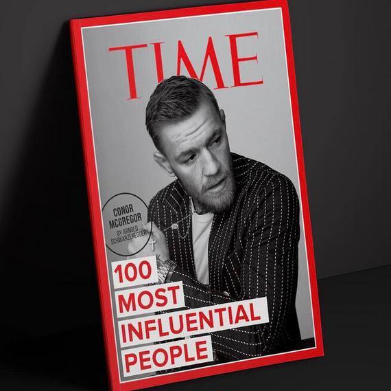 """康纳-麦格雷戈入选时代杂志""""100位最具影响力人物榜"""""""