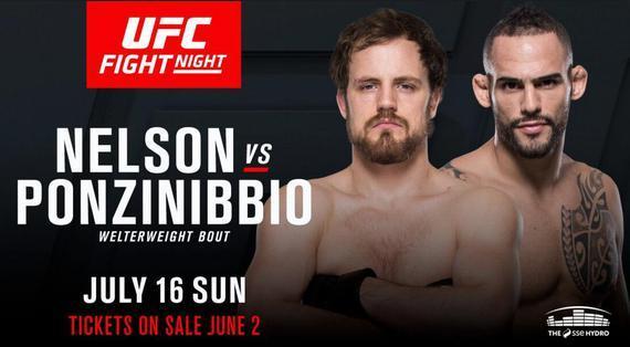 UFC Fight Night 113 尼尔森 VS 彭兹尼比奥