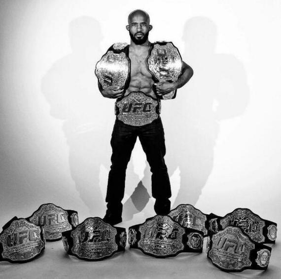 狄米崔斯-约翰逊赢得了2017年ESPY年度最佳格斗选手奖项