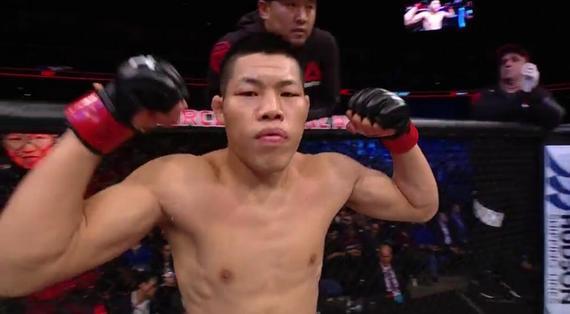 """""""吸血魔""""李景亮已经在UFC打出了漂亮的4连胜"""