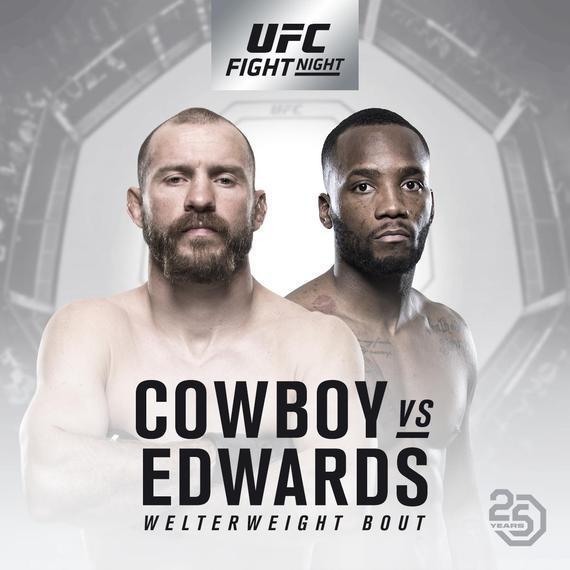 今年的UFC新加坡赛将于6月23日举行
