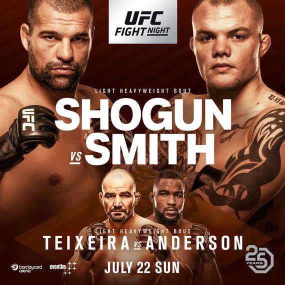 2018年7月22日UFC格斗之夜134德国站 - 直播[视频]