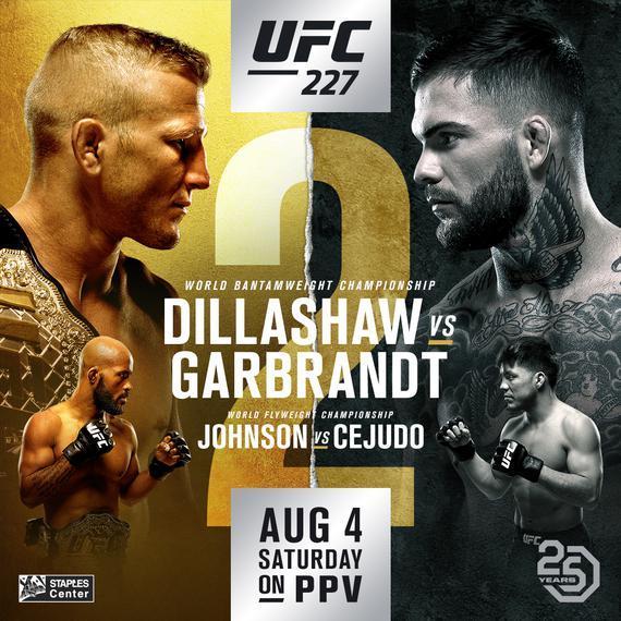 UFC 227 迪拉肖 VS 加布兰特 2