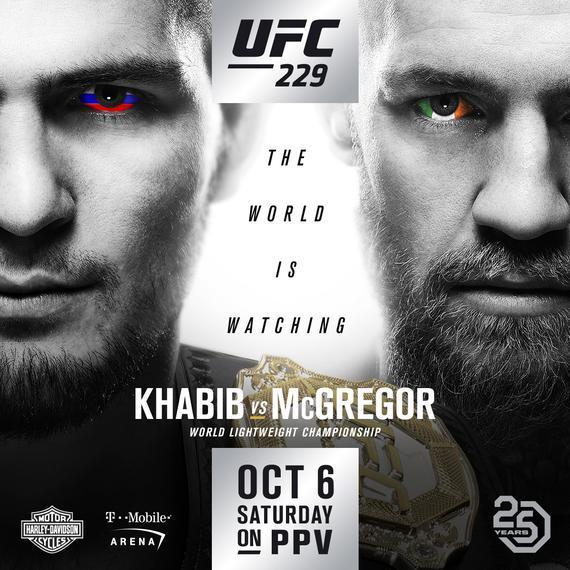 2018年10月7日UFC 229期 - 对阵[视频] Khabib vs. McGregor
