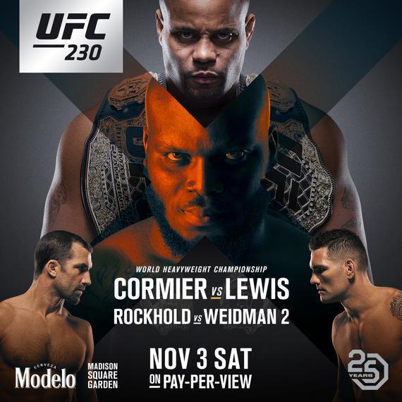 点击收藏UFC 230