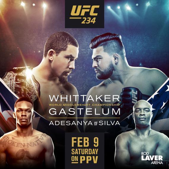 UFC234前瞻:维泰克尔主场卫冕战 新老站立之王一决高下