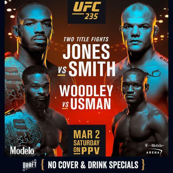 """2019年3月3日""""骨头""""琼斯vs史密斯 [视频] Jones vs. Smith"""