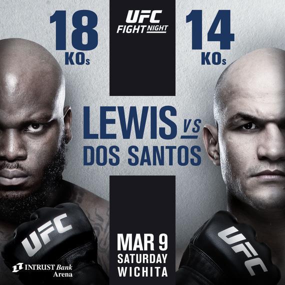 UFC格斗之夜146前瞻:飓风城之战刘易斯对决桑托斯