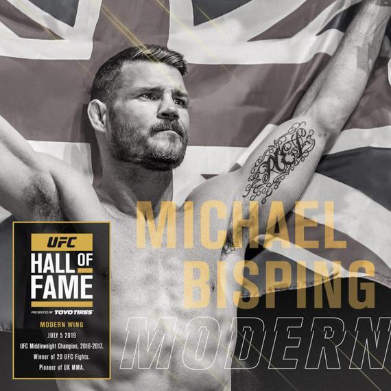 迈克尔-比斯平入选2019年UFC名人堂当代名人单元