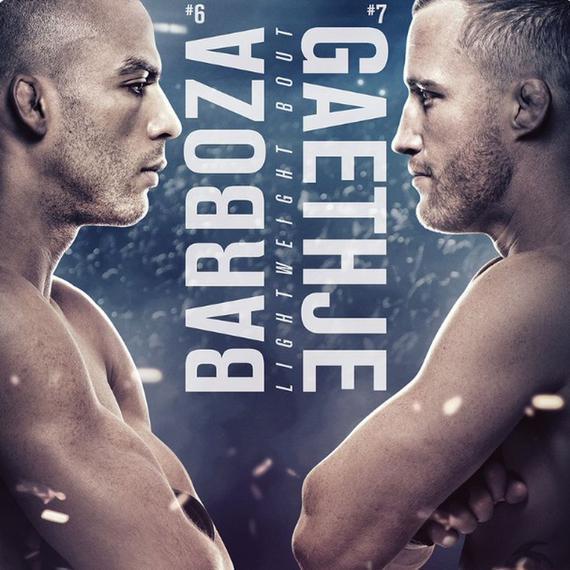 UFC on ESPN 2前瞻:巴博萨VS加瑟基站立火拼