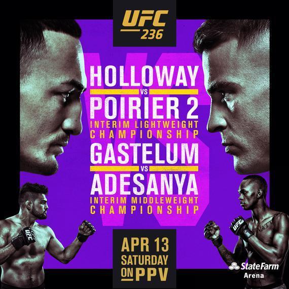 UFC236前瞻:霍洛威再战普瓦里尔 开尔文亲历最后狂欢
