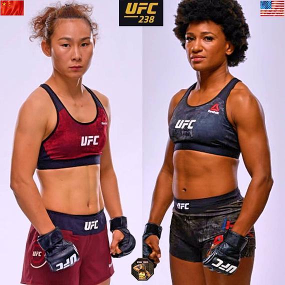 安吉拉-希尔将是闫晓楠在UFC238的新对手