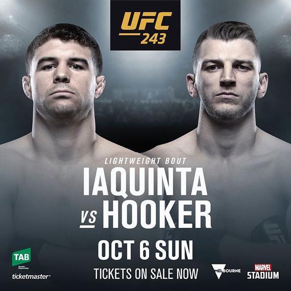 UFC243亚昆塔对决霍克尔 重量级新秀图瓦萨出战谢尔盖