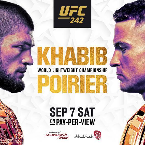 点击收藏UFC 242