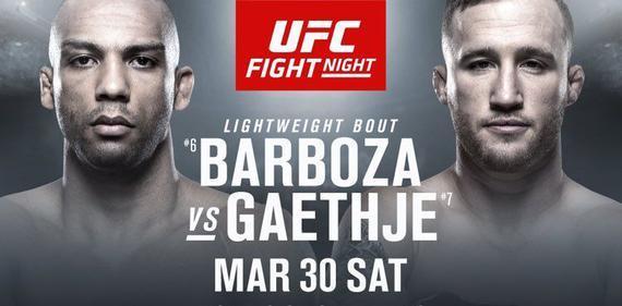 巴博萨VS加瑟基轻量级打击流对决领衔UFC on ESPN 2