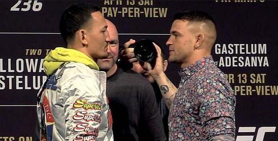 4月UFC十大对决(上):霍洛威VS普瓦利尔2石破天惊