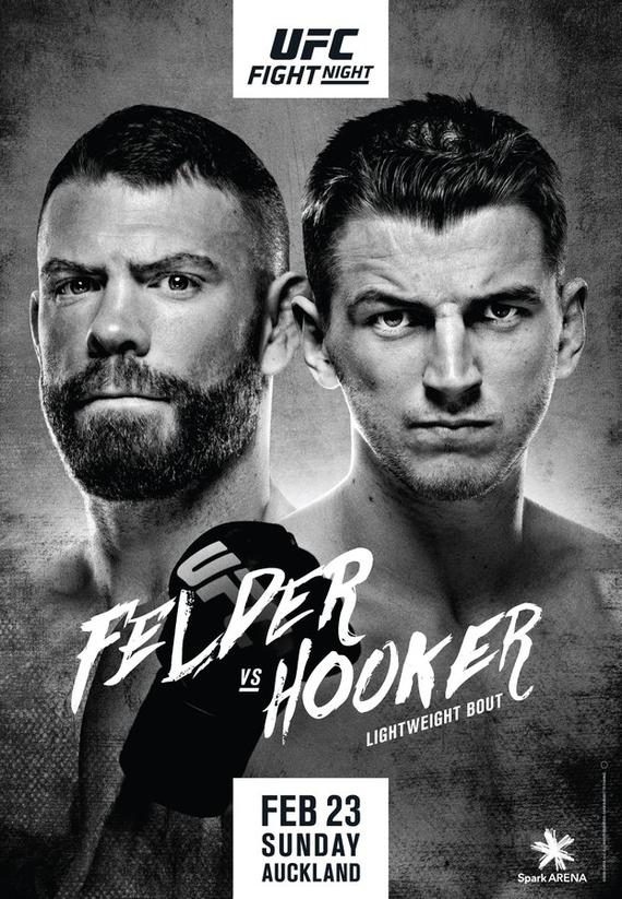 UFC格斗之夜168前瞻:菲尔德对决霍克尔 闫晓楠出战