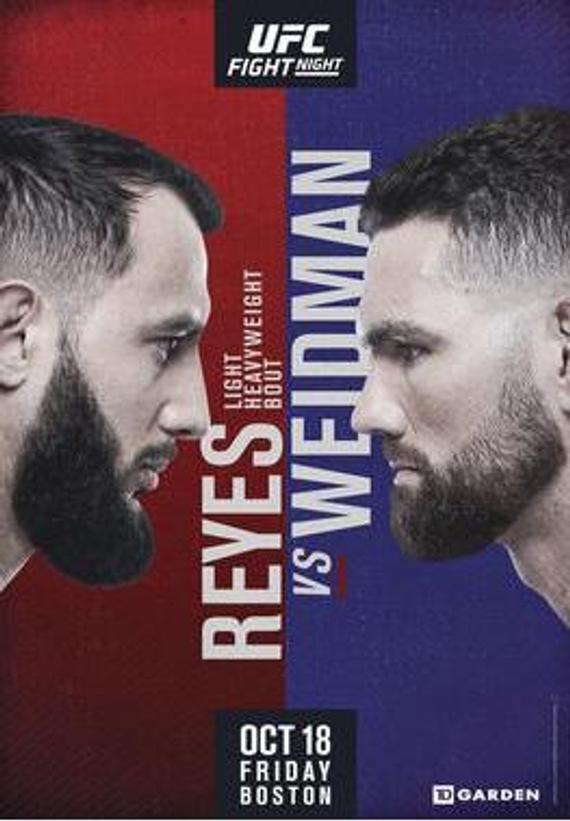 UFC on ESPN 6前瞻:韦德曼升重首秀战不败新星雷耶斯