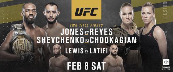 UFC247前瞻:史上最伟大冠军琼斯对决不败新星雷耶斯