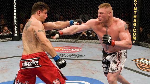 UFC十大超级恩怨(下) 莱斯纳VS米尔助力UFC登顶